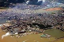 Macau-Geography-Macau peninsula