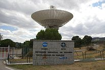 DSS-63 antenna at the Madrid Deep Space Communications Complex