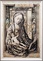 Maestro IAM di zwolle, madonna delle ciliegie, 1470-95 ca., incisione.jpg