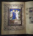 Maestro del roman de la rose, libro d'ore, luglio (visitazione), lione 1425-50 ca. 02.JPG