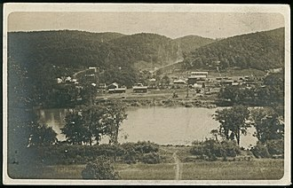 Magnolia, West Virginia - Photo of Magnolia from Across the Potomac (1906-1910)