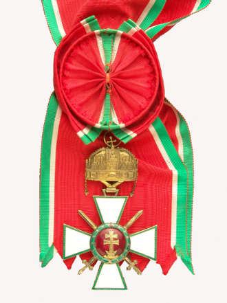 Order of Merit of the Kingdom of Hungary - Cross of the Grand Cross with Holy Stephen's Crown