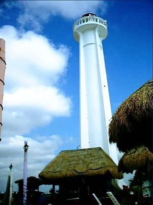 Mahahual - Mahahual lighthouse
