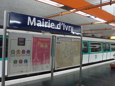Mairie d'Ivry (Paris Metro)