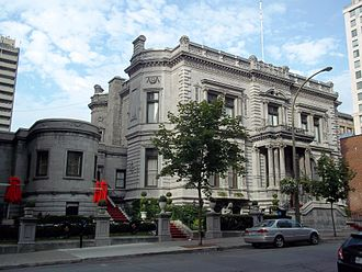George Stephen, 1st Baron Mount Stephen - Stephen's Italianate mansion in Montreal's Golden Square Mile, completed in 1883