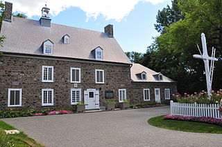 Maison Saint-Gabriel Farm museum in Quebec, Canada
