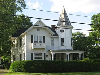National Register of Historic Places listings in Champaign County, Ohio - Image: Major John C. Baker House