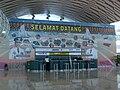 Makassar Airport New Terminal Info Desk.JPG