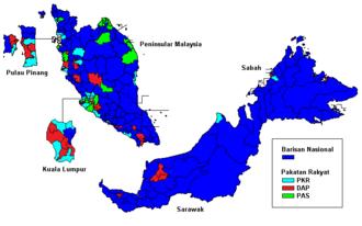 Dewan Rakyat - Members of Dewan Rakyat as elected in 2013 by federal constituency