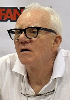 Malcolm McDowell English actor