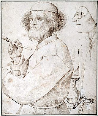 Albertina - Image: Maler und Käufer