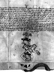Malmö stads vapenbrev, 1437