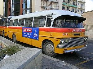 Transport in Malta - Traditional Maltese bus