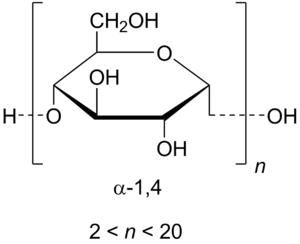 chemical structure of maltodextrin