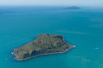Mana Island (New Zealand) - Image: Mana and Kapiti Islands