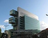 Manchester Civil Justice Centre from Bridge Street.jpg