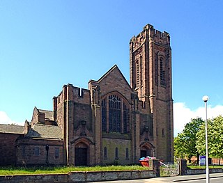 Manor Church Centre, Egremont Church in Merseyside, England