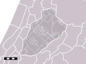 Oude Meer - Image: Map NL Haarlemmermeer Oude Meer