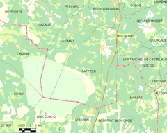 Map commune FR insee code 33095.png