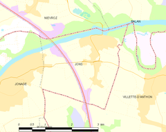 Map commune FR insee code 69280.png