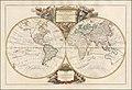 Mappemonde ou Description Du Globe Terrestre dressee sur les memoires les plus nouveaux, et assujettie aux observations astronomiques . . . 1752.jpg