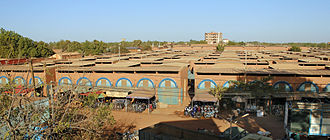 Centre-Ouest Region - The Grand Marché in Koudougou, the region's largest urban center.