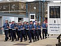 Marching through Chatham Dockyard - geograph.org.uk - 1354696.jpg