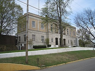 Marianna, Arkansas - Lee County Courthouse in Marianna