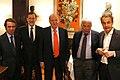 Mariano Rajoy cena con el Rey Juan Carlos y los expresidentes del Gobierno Rodríguez Zapatero, Aznar y González (cropped).jpg