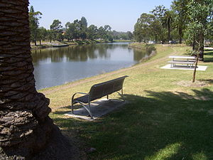 Maribyrnong River - Maribyrnong River in the suburb Maribyrnong.