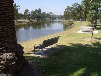 Maribyrnong River - Maribyrnong River in the suburb of Maribyrnong.