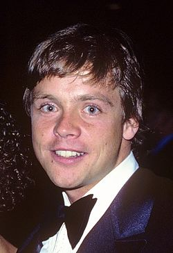 Mark Hamill, l'interprète de Luke Skywalker, en 1978.