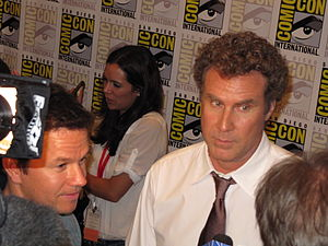 Electronic field production - Mark Wahlberg and Will Ferrell in the Press Room, San Diego Comic Con 2010