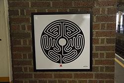 Mark Wallinger Labyrinth 237 - High Street Kensington.jpg