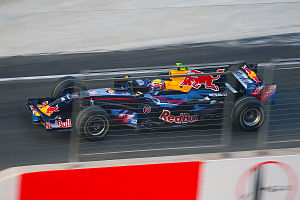 2008 Chinese Grand Prix - Mark Webber was penalised for changing engines after practice