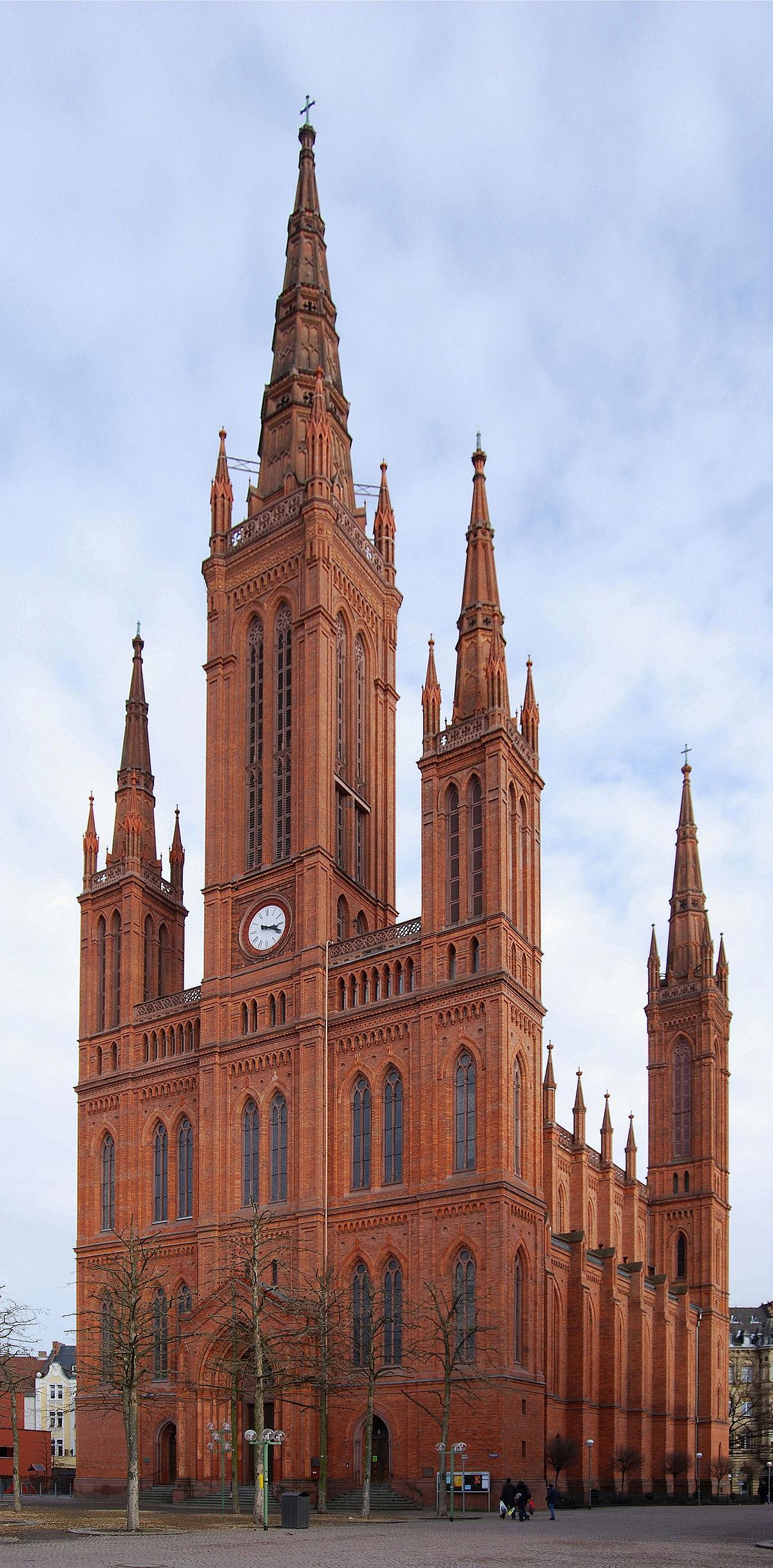 Marktkirche wiesbaden wikip dia for Architecte 3d wikipedia