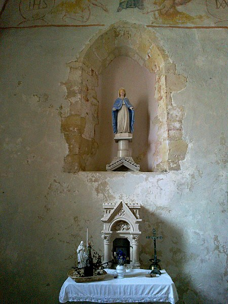 Marne Cormoyeux Eglise Saint-Clement Absidiole Autel 22062016