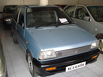 Maruti 800 - Maruti 800, the model after the 1997 upgrade