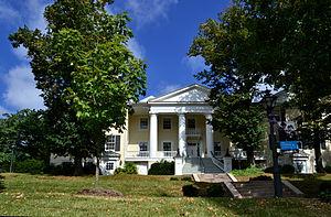 National Register of Historic Places listings in Staunton, Virginia - Image: Mary Baldwin College Staunton VA Main