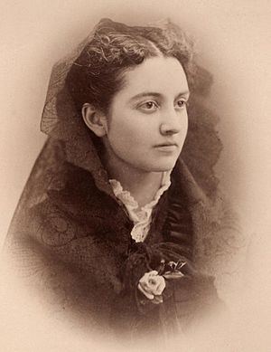 Mary Caffrey Low - Mary Caffrey Low in 1875