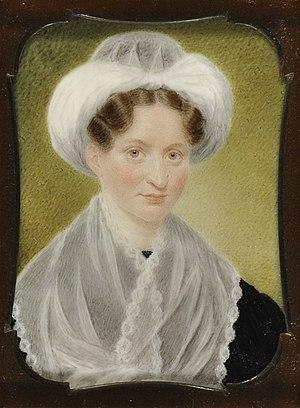 Mary Lyon - Portrait of Mary Lyon, 1832