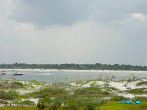 Matanzas Inlet - Matanzas Inlet, Florida.  Between Flagler Beach and St. Augustine. Photo: Marc Averette