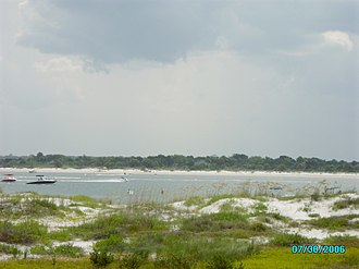 Matanzas Inlet - Matanzas Inlet, Florida.  Between Flagler Beach and St. Augustine. Photo: Marc Averette