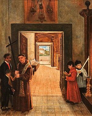 Matilde Malenchini - Monastery Interior
