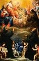 Matteo rosselli, i santi gaetano di thiene, andrea avellino, francesco d'asisi adoranti la trinità, la madonna, san giovanni battista e san michele arcangelo.jpg