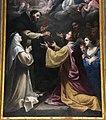 Matteo rosselli, madonna del rosario coi ss. domenico, caterina e altri, 1649, 06.JPG