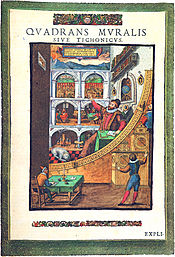 Le Quadrans muralis de Tycho Brahe (1598)