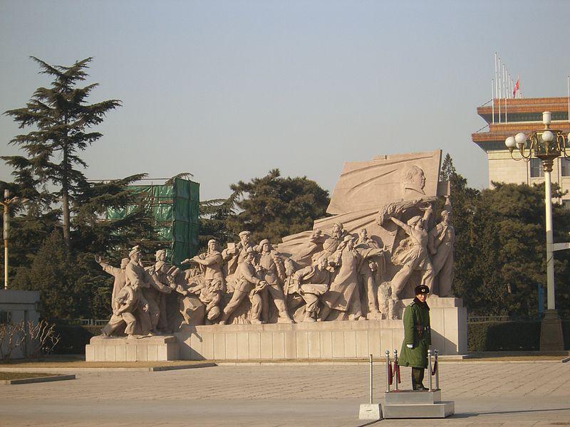 Mausoleo de Mao Zedong-Tianang Mei-Pekin-China8452.JPG