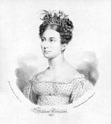 Angelica Catalani um 1810, Lithographie von Maxim Gauci (Quelle: Wikimedia)