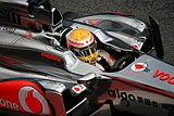 Photo des pontons de la McLaren MP4-26